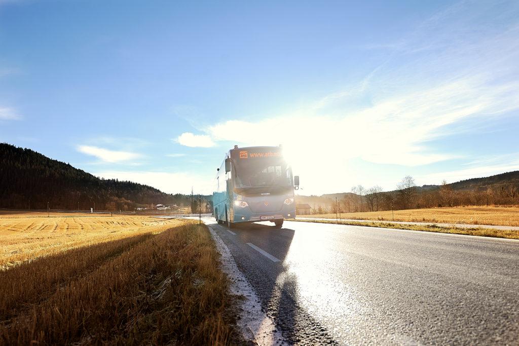 AtB buss. Foto: AtB