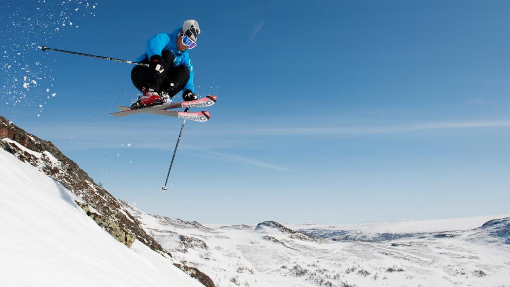 Off-piste i Oppdal Skisenter. Foto: Terje Rakke / trondelag.com