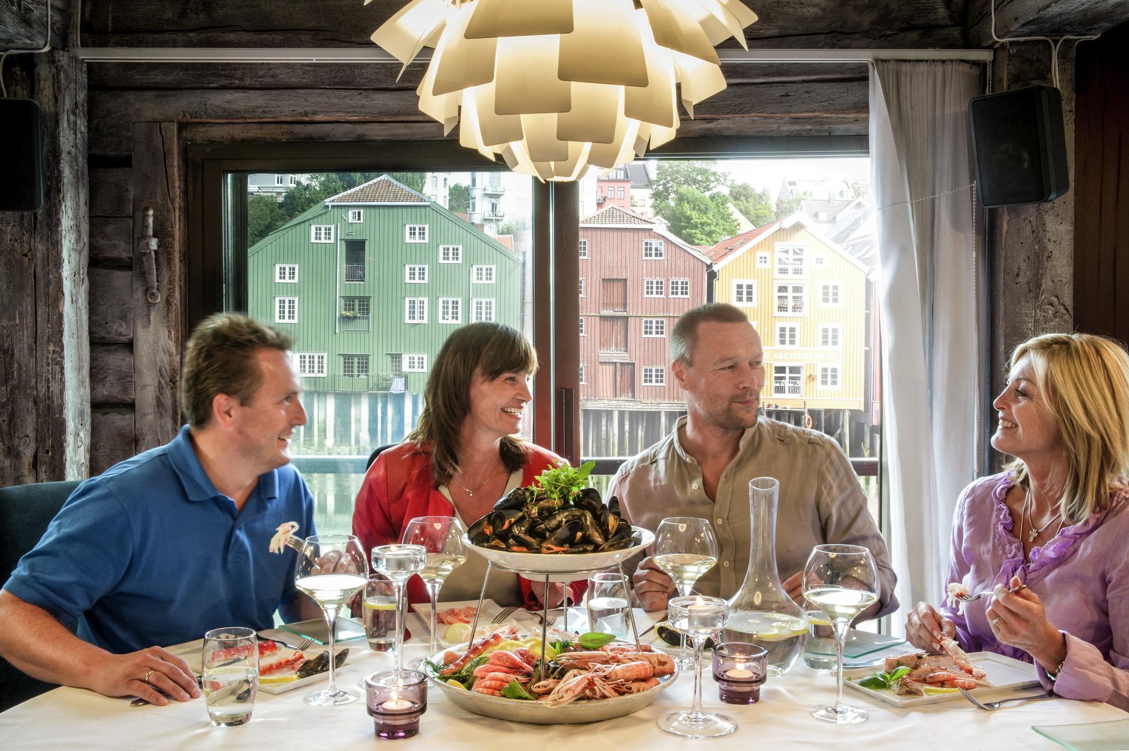 havfruen restaurant trondheim Florø