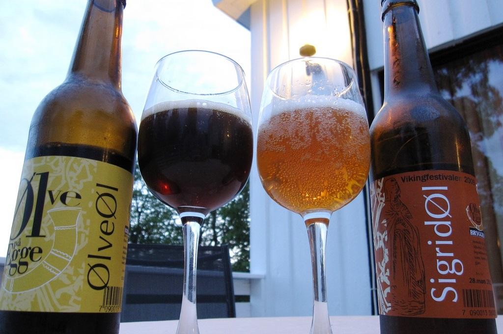 Øl fra Ølve på Egge Bryggeri, på Steinkjer, Innherred, Trøndelag, Foto: Bernt Rostad - Flickr