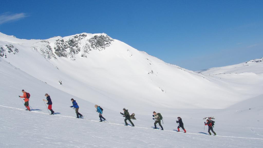 5 skiturer på Oppdal