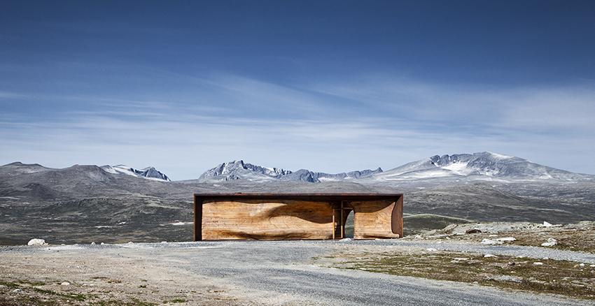 Viewpoint Snøhetta. Foto: Ketil Jacobsen
