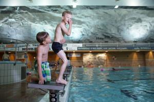 Oasen svømmehall i Namsos, Trøndelag, Foto: Robert Selfors