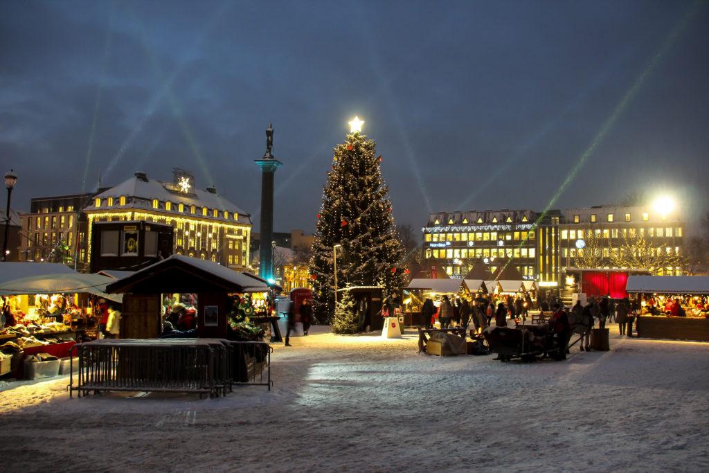 Julemarkedet i Trondheim. Foto: Øyvind Blomstereng
